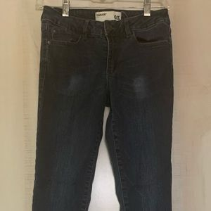 Garage high waist jeggings denim jeans, size 3